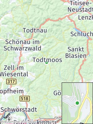 Here Map of Todtmoos