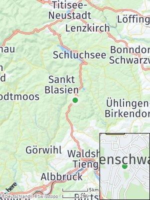 Here Map of Höchenschwand