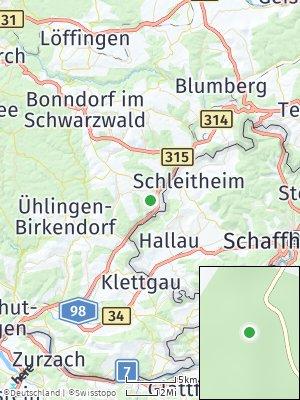 Here Map of Stühlingen