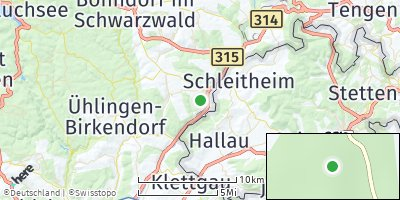 Google Map of Stühlingen