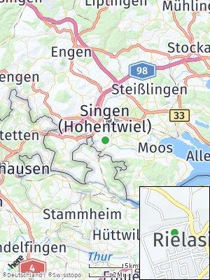 Here Map of Rielasingen-Worblingen