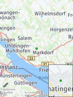 Here Map of Bermatingen