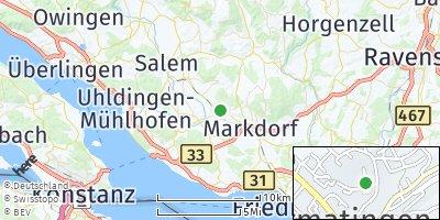 Google Map of Bermatingen