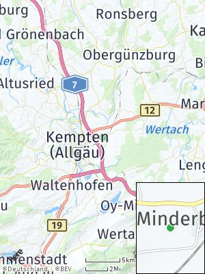 Here Map of Tannen
