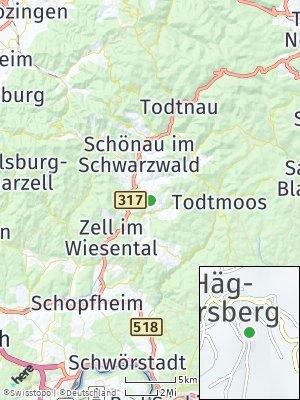 Here Map of Häg-Ehrsberg