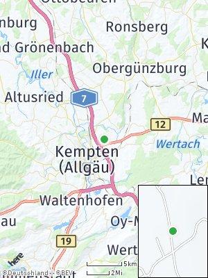 Here Map of Wettmannsberg