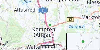Google Map of Wettmannsberg