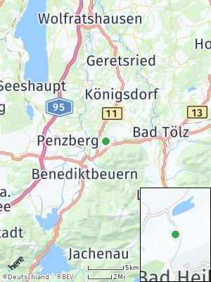 Here Map of Bad Heilbrunn