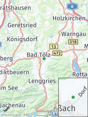 Here Map of Gaißach