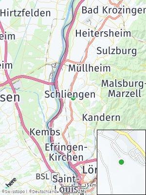 Here Map of Schliengen