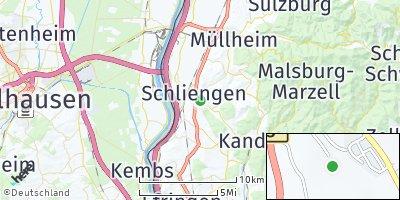 Google Map of Schliengen