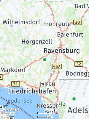 Here Map of Adelsreute