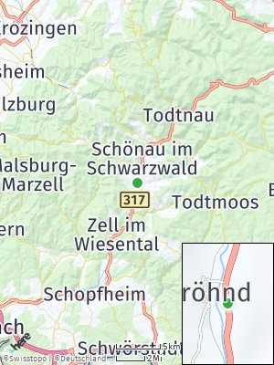 Here Map of Fröhnd