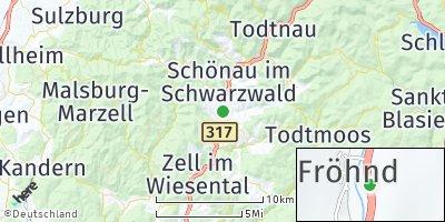 Google Map of Fröhnd
