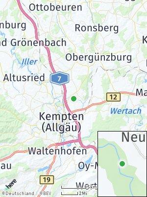 Here Map of Leupratsried
