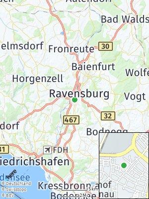 Here Map of Weißenau