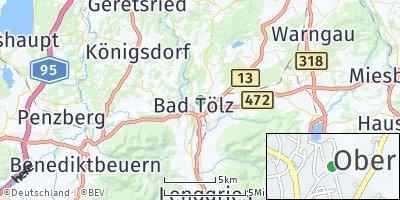 Google Map of Bad Tölz