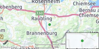 Google Map of Neubeuern