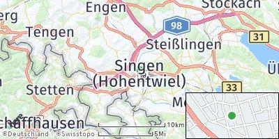 Google Map of Singen