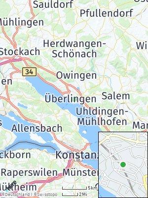 Here Map of Überlingen