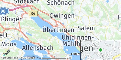 Google Map of Überlingen