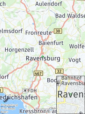 Here Map of Ravensburg