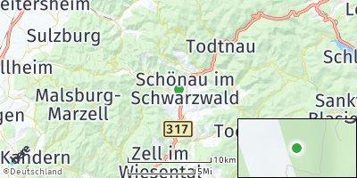 Google Map of Schönenberg