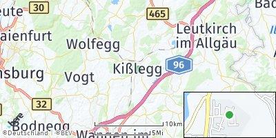 Google Map of Kißlegg