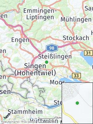 Here Map of Friedingen