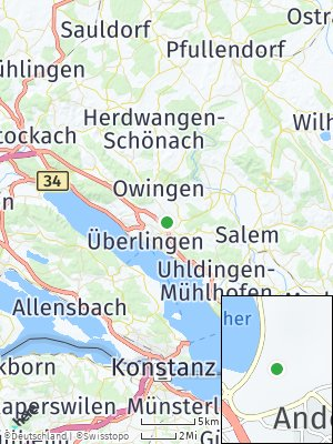 Here Map of Andelshofen