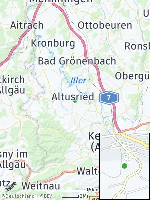 Here Map of Altusried