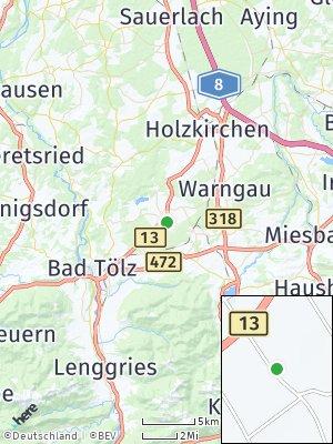Here Map of Sachsenkam