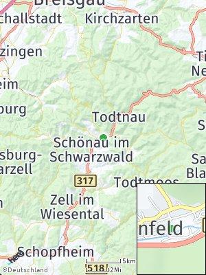 Here Map of Utzenfeld