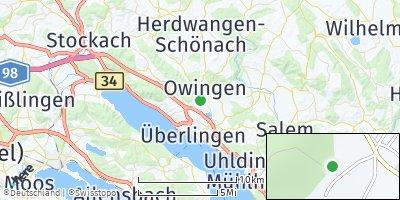 Google Map of Owingen