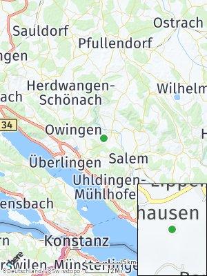 Here Map of Lippertsreute