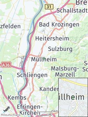 Here Map of Müllheim