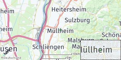 Google Map of Müllheim