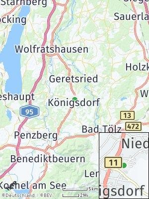 Here Map of Königsdorf