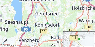 Google Map of Königsdorf