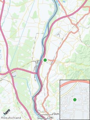 Here Map of Neuenburg am Rhein