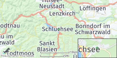 Google Map of Schluchsee