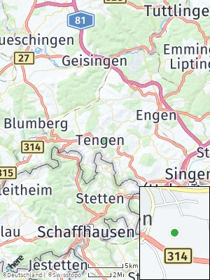 Here Map of Tengen
