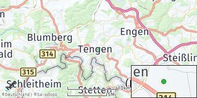 Google Map of Tengen