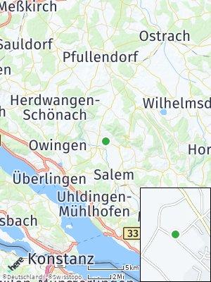 Here Map of Frickingen