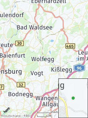 Here Map of Wolfegg