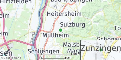 Google Map of Zunzingen