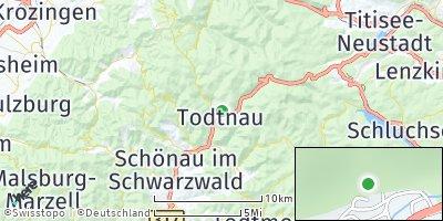 Google Map of Todtnau