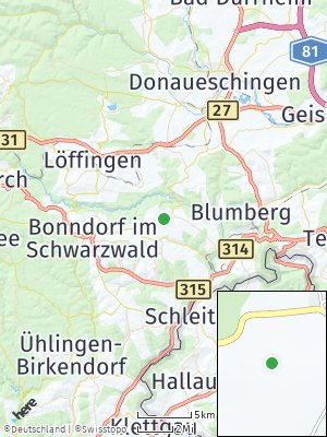 Here Map of Wutach