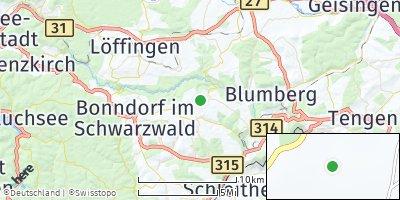 Google Map of Wutach