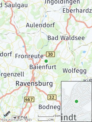 Here Map of Baindt